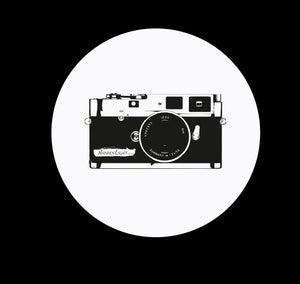 Leica design screen printed T-shirt