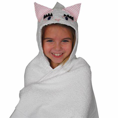 Kitten Hooded Towel