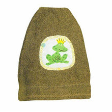 Load image into Gallery viewer, Frog Towel, Bib and Bath Mitt Set