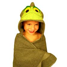 Frog Towel, Bib and Bath Mitt Set