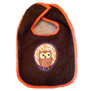 Owl Towel, Bib and Bath Mitt Set