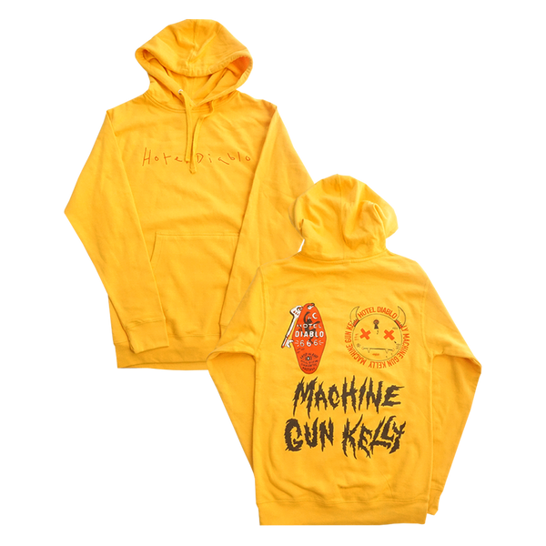 Yellow Diablo Pullover