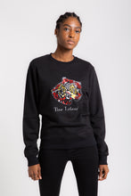 Load image into Gallery viewer, CONGO BLACK  Leopard Unisex Sweat-shirt