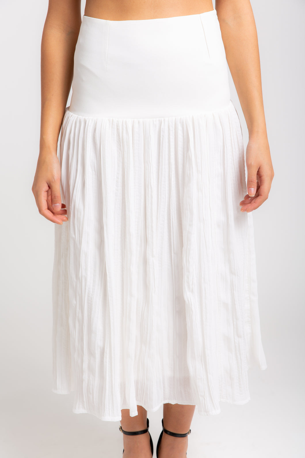 ALIA - Crepe mix Skirt