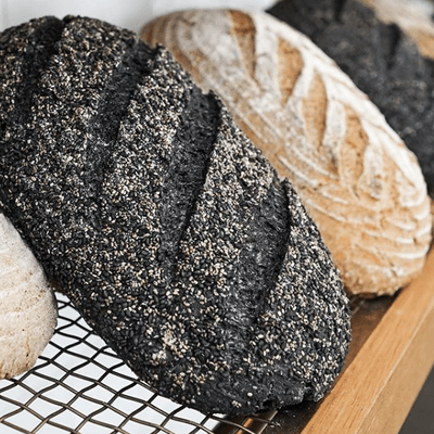 ACTIVATED COCONUT CHARCOAL BREAD