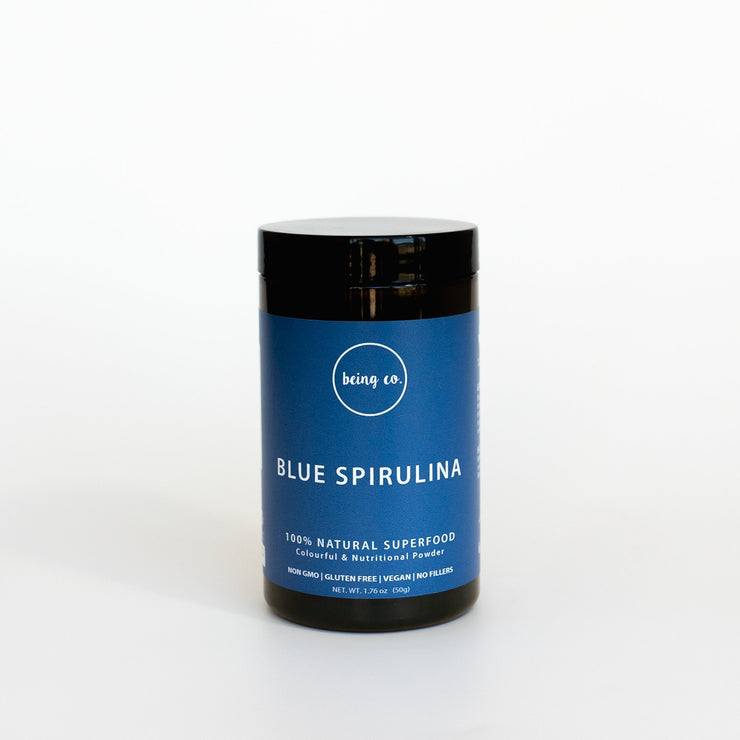 Blue Spirulina Powder - 100% Natural - Being Co.