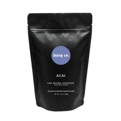 BULK ACAI POWDER - 100% NATURAL - Being Co.