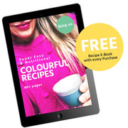 Colourful Coconut Bowl Bundle + FREE Popsicle Mould - Being Co.
