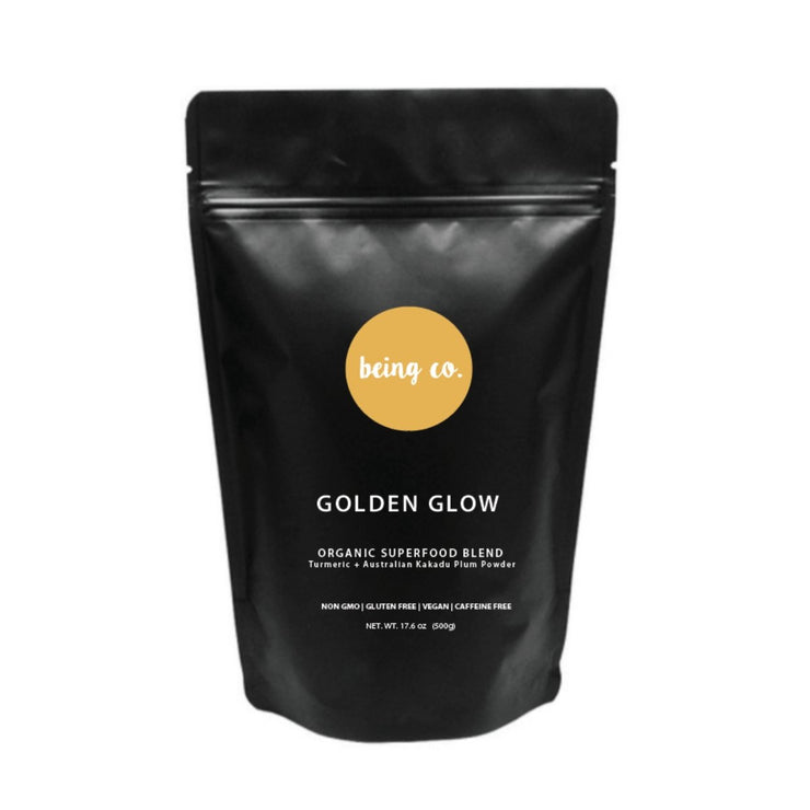 Golden Glow Powder - Turmeric + Australian Kakadu Plum - Being Co.