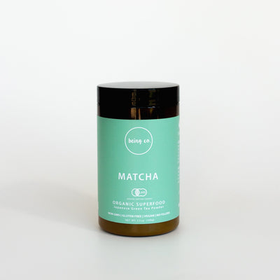 Matcha Powder - Japan Certified Organic - Being Co.