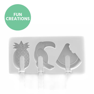 Mini Summer Tropical Smoothie Moulds - Being Co.