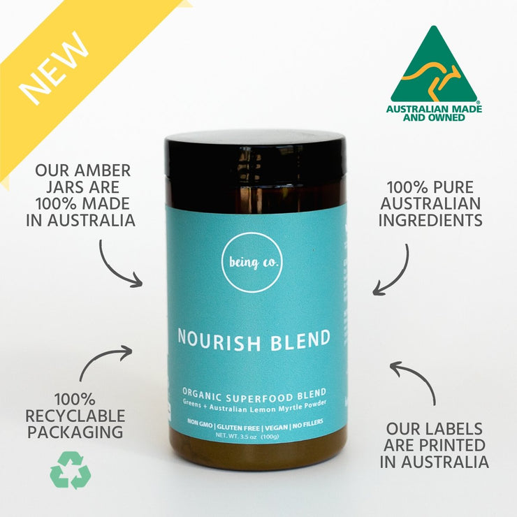 Nourish Blend - 100% Australian - Being Co.