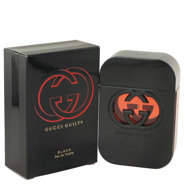Gucci Guilty Black Eau De Toilette Spray 2..5 oz 75 ml for Women Fragrance