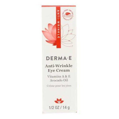 Derma E - Anti - Wrinkle Vitamin A Eye Cr?me - 0.5 oz.