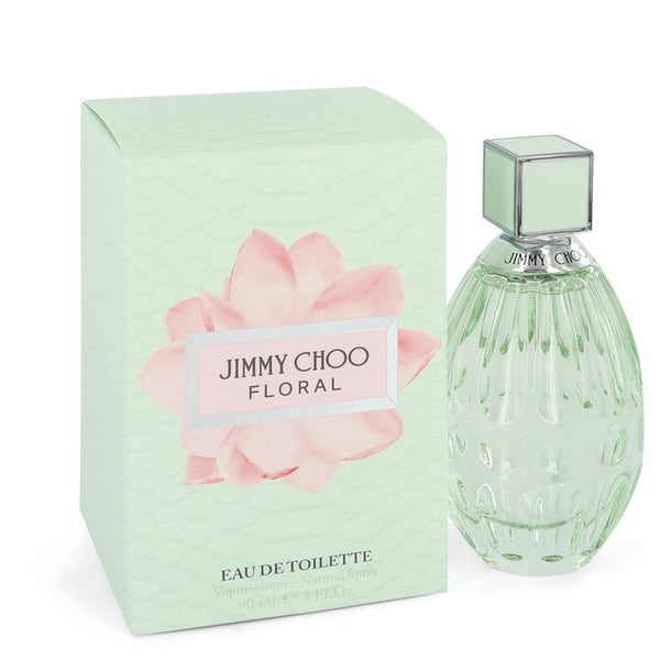 Jimmy Choo Floral Eau De Toilette Spray 3 oz 90 ml for Women Fragrance