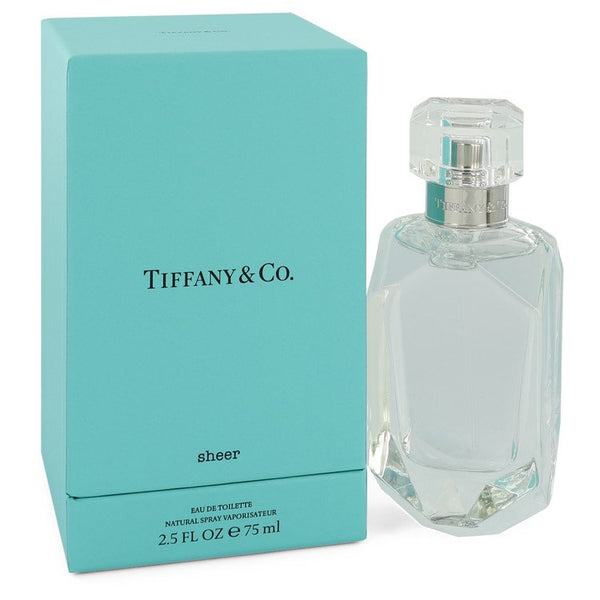 Tiffany Sheer by Tiffany Eau De Toilette Spray 2.5 oz  for Women
