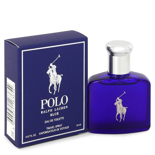 Polo Blue by Ralph Lauren Eau De Toilette Spray .67 oz for Men