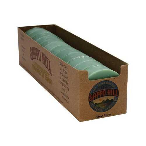 Sappo Hill Soapworks Aloe Soap (12 pack)