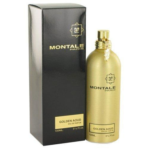 Montale Golden Aoud Eau De Parfum Spray 3.3 Oz 100 ml for Women Fragrance