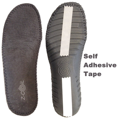 Sandal Insole Pigskin Grey Insole Z-CoiL