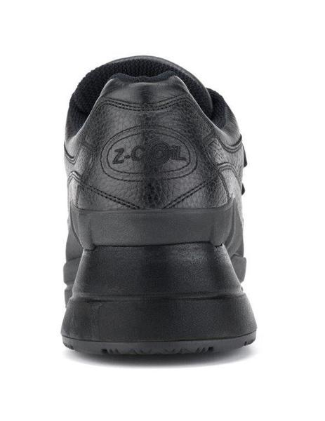 The Legend in Black with Velcro, Enclosed Heel and Slip Resistance Men Z-CoiL
