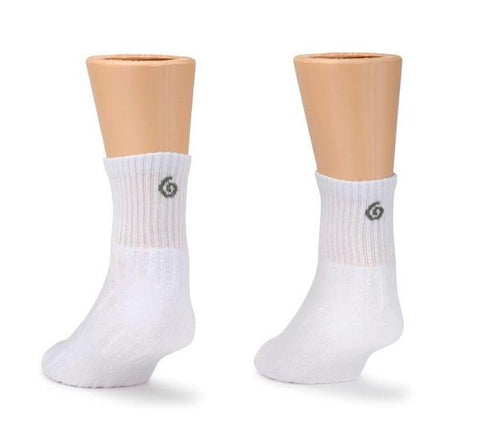 Z-CoiL Comfort Socks - Ankle White - 3 Pack Socks Z-CoiL