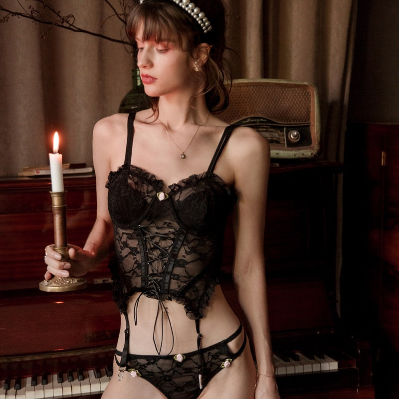 Baby Doll Corset + Panty