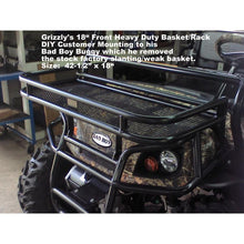 "Load image into Gallery viewer, Grizzly's Bad Boy Buggy DIY 18"" Basket Modified Mounting"