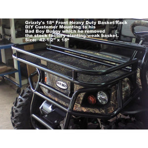 "Grizzly's Bad Boy Buggy DIY 18"" Basket Modified Mounting"