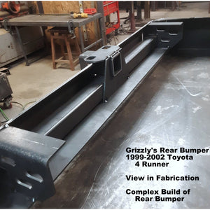 "1999-2002 Toyota 4 Runner Custom USA Front Winch Plate Hybrid Tubing Bumper $875 & Rear Plate Bumper $695-  PRECISION WELDED USA METAL! NOT FROM CHINA & NOT CHINA ""BOLT TOGETHER"" SECTIONS!"