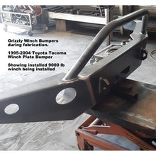 Load image into Gallery viewer, 1995-2004 Toyota Tacoma Custom USA Front Winch Plate Bumper Includes Subframe!  (Non-Winch Model Available)  PRECISION WELDED MODEL - USA Metal! High Quality! USA!