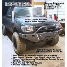 Load image into Gallery viewer, 2004-2008 f150 front winch plate bumper   grizzlymetalworks.com