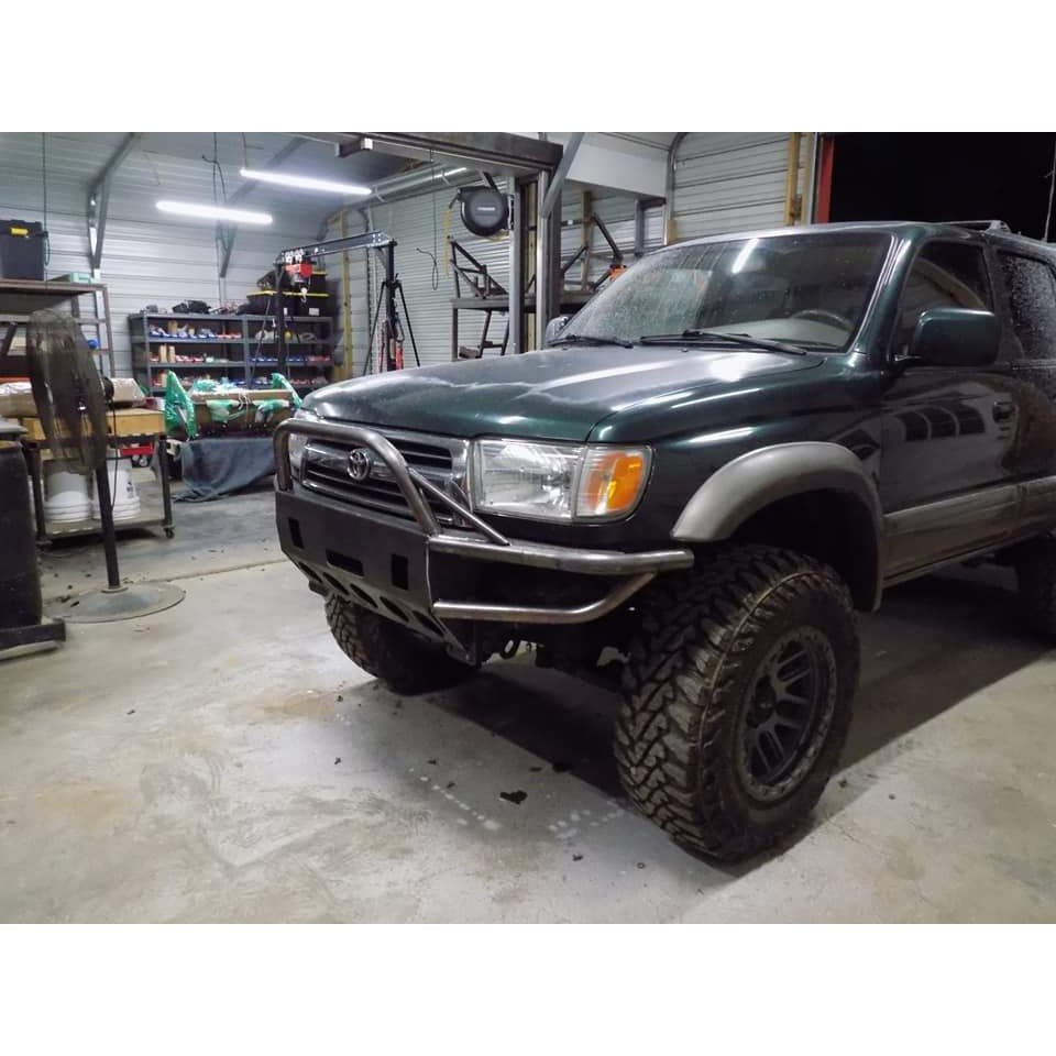 1999-2002 Toyota 4 Runner Custom USA Front Winch Plate Hybrid Tubing Bumper $875 & Rear Plate Bumper $695-  PRECISION WELDED USA METAL! NOT FROM CHINA & NOT CHINA