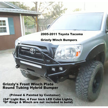 Load image into Gallery viewer, 2005-2010 Toyota Tacoma Grizzly Metalworks Front Winch Bumper & Rock Sliders