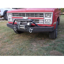 Load image into Gallery viewer, Chevy K5 K10 front winch plate bumper   grizzlymetalworks.com