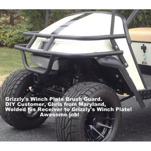 Grizzly Metalworks Front Winch Plate Brush Guard