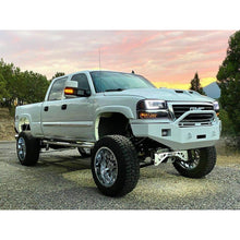 Load image into Gallery viewer, 2003-2006 GMC Sierra 2500/3500 HD Custom USA Front Winch Plate Bumper -(Non-Winch Model Available)  PRECISION WELDED MODEL - USA Metal! High Quality! USA!