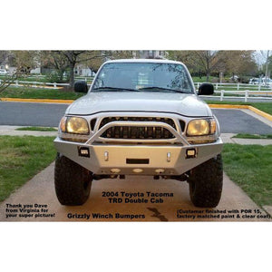 1995 - 2004 Toyota Tacoma Front Winch Plate Bumper