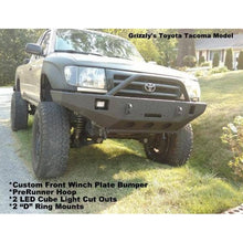 Load image into Gallery viewer, Grizzly Winch Bumpers Toyota Tacoma Winch Bumper  grizzlywinchbumpers.com