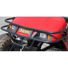 Load image into Gallery viewer, Grizzly Metalworks EZGO TXT Golf Cart Winch Plate Brush Guard