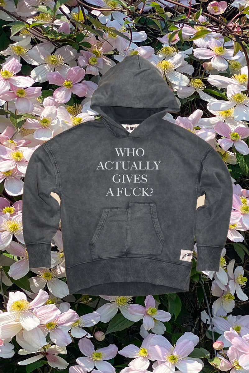 WHO GIVES A FUCK HOODY - DAY 4