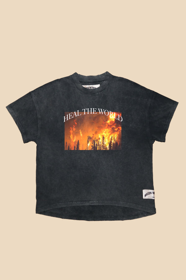 HEAL THE WORLD TEE