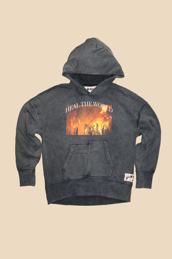 HEAL THE WORLD HOODY