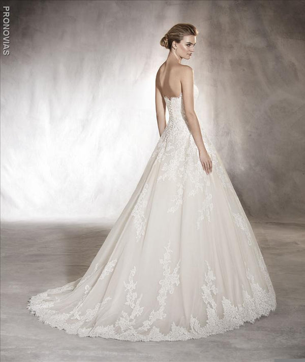 Pronovias Aloha wedding dress