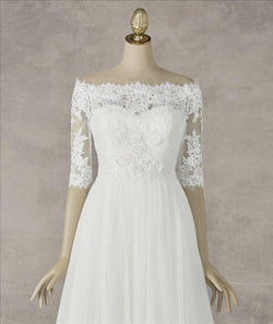 PRONOVIAS JACKET CHAQUETA LA 231 OFF WHITE BEADED GUIPURE