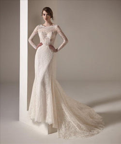 Malala Pronovias Long Sleeves Wedding Dress