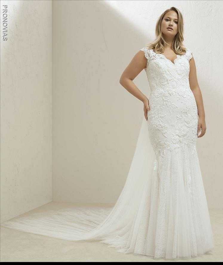 Pronovias Miel Plus Wedding Dress Sample