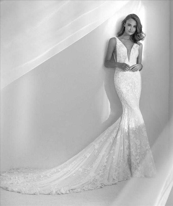 Rubor  beaded wedding dress Pronovias