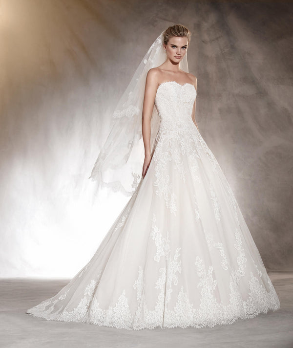 Aloha Pronovias  Sample Sale A-line gown