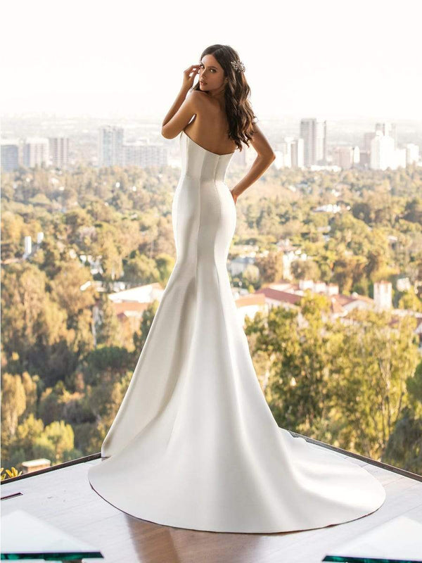 Pronovias DAY - Mermaid Wedding Dress With Open Back